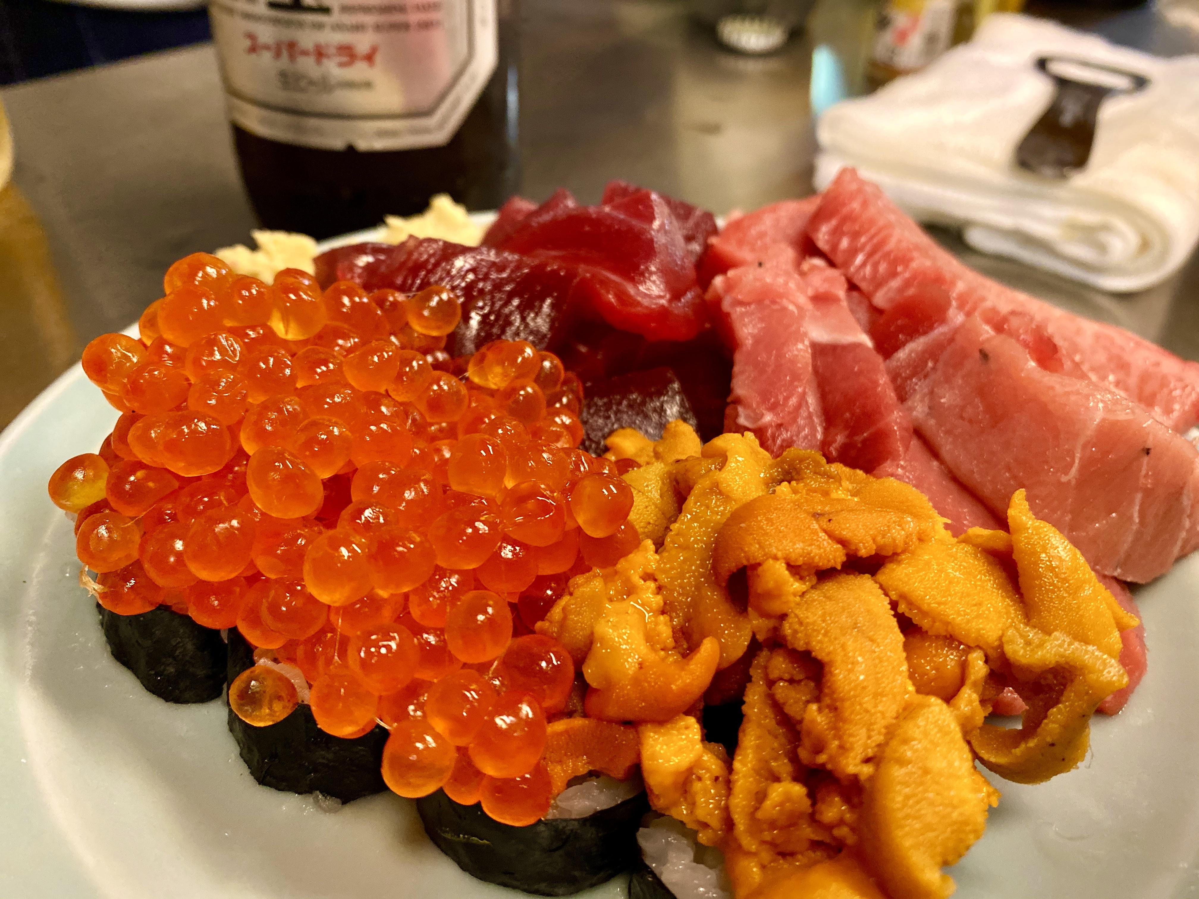 【京橋居酒屋「とよ」】西の魔窟京橋で特盛海鮮食べてみた【食レポ】